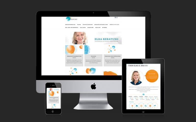 Webdesign für elkaberatung