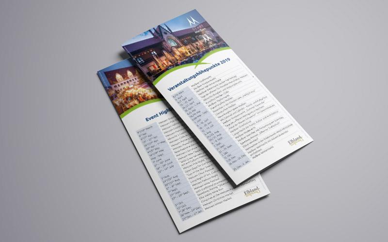 Flyer für Stadt Meißen