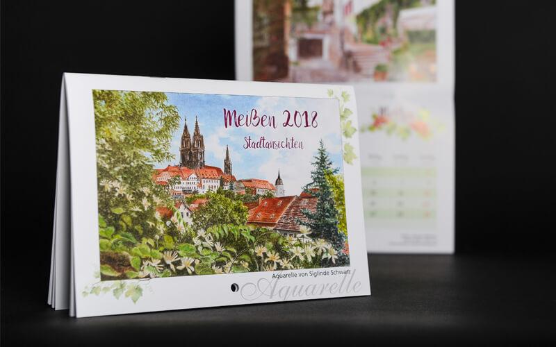Kalender für Schwarz Malerei