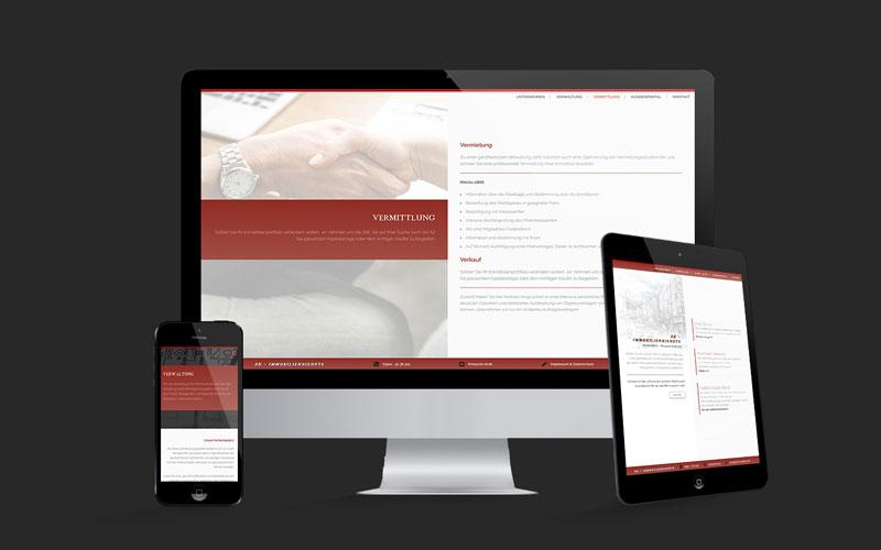 Webdesign für SK Immobiliendienste