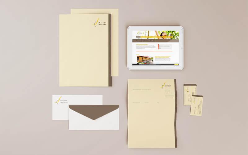 Corporate Design für Stiftung Soziale Projekte Meißen
