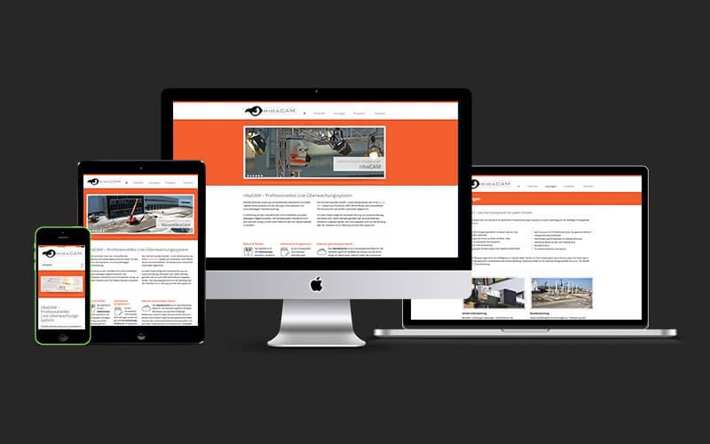 Webdesign für ribaCAM
