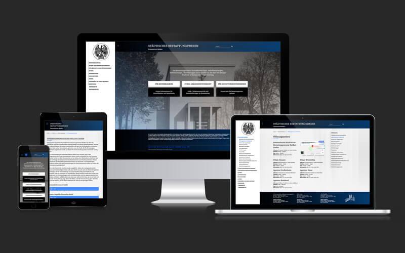 Webdesign für Krematorium Meißen