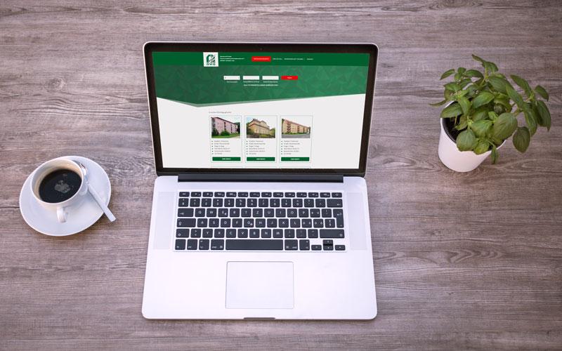 Webdesign für GWG Meißen