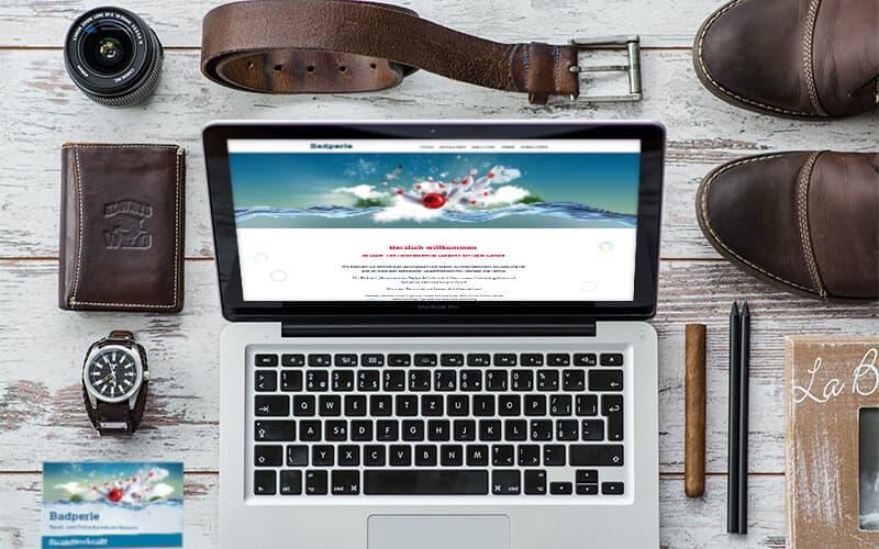 Webdesign für Badperle Nossen