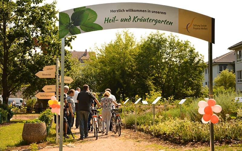 Beschilderung für Heil- und Kräutergarten Meißen