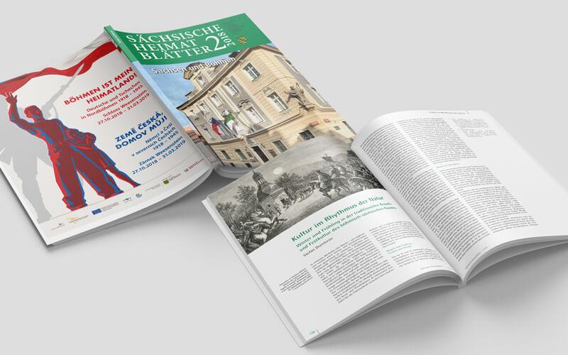 Magazin Sächsische Heimatblätter