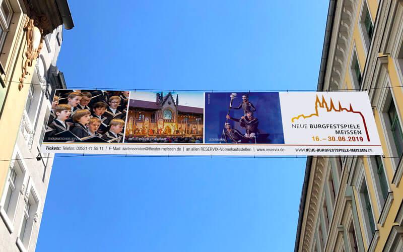 Banner für Neue Burgfestspiele Meißen