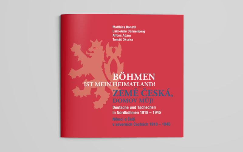 Broschüre für Ausstellung auf Schloss Weesenstein