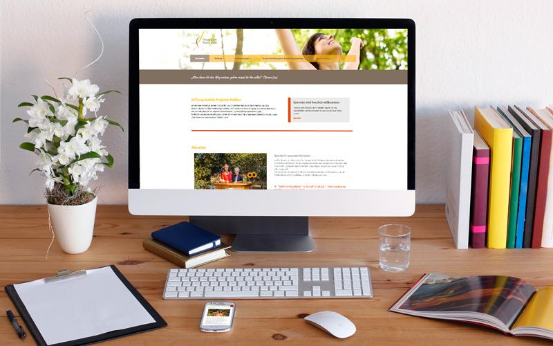 Webdesign für Stiftung Soziale Projekte Meißen