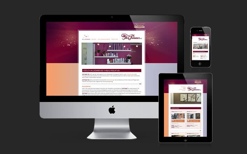 Webdesign für Ihr Friseur eG