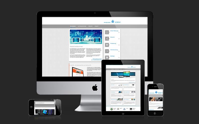 Webdesign für Rischke EDV