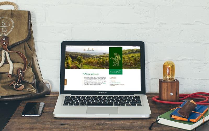 Webdesign für Weingut Lehmann
