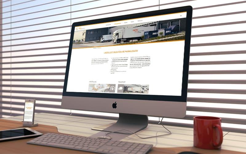 Webdesign für UNITAX