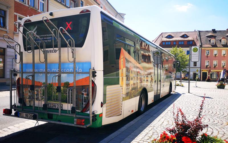 Fahrzeuggestaltung für GWG Meissen